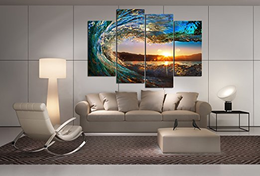 Home-Wall-Art-Decor-Waves-Home-Wall-Art-Decor 2017