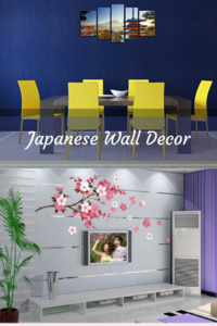 Japanese-wall-decor-Japanese Home Wall Art Decor