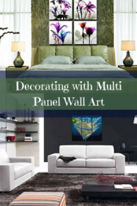 Multi Panel Wall Art - Multipanel home wall art decor