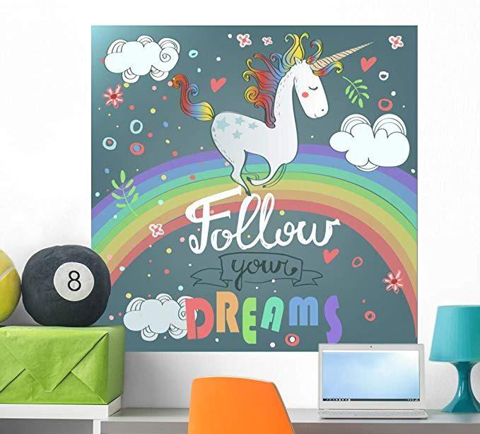 Rainbow wall decor - Rainbow wall art