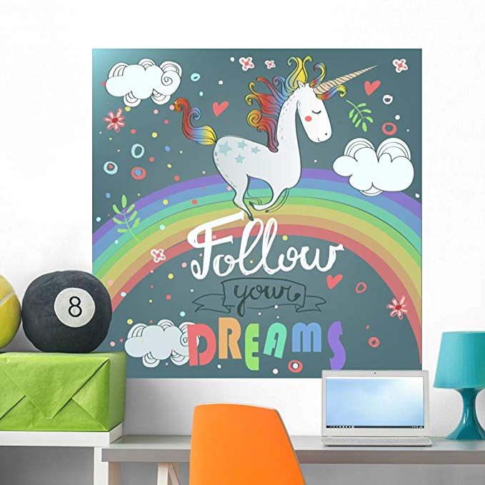 Rainbow wall decor - Rainbow wall art
