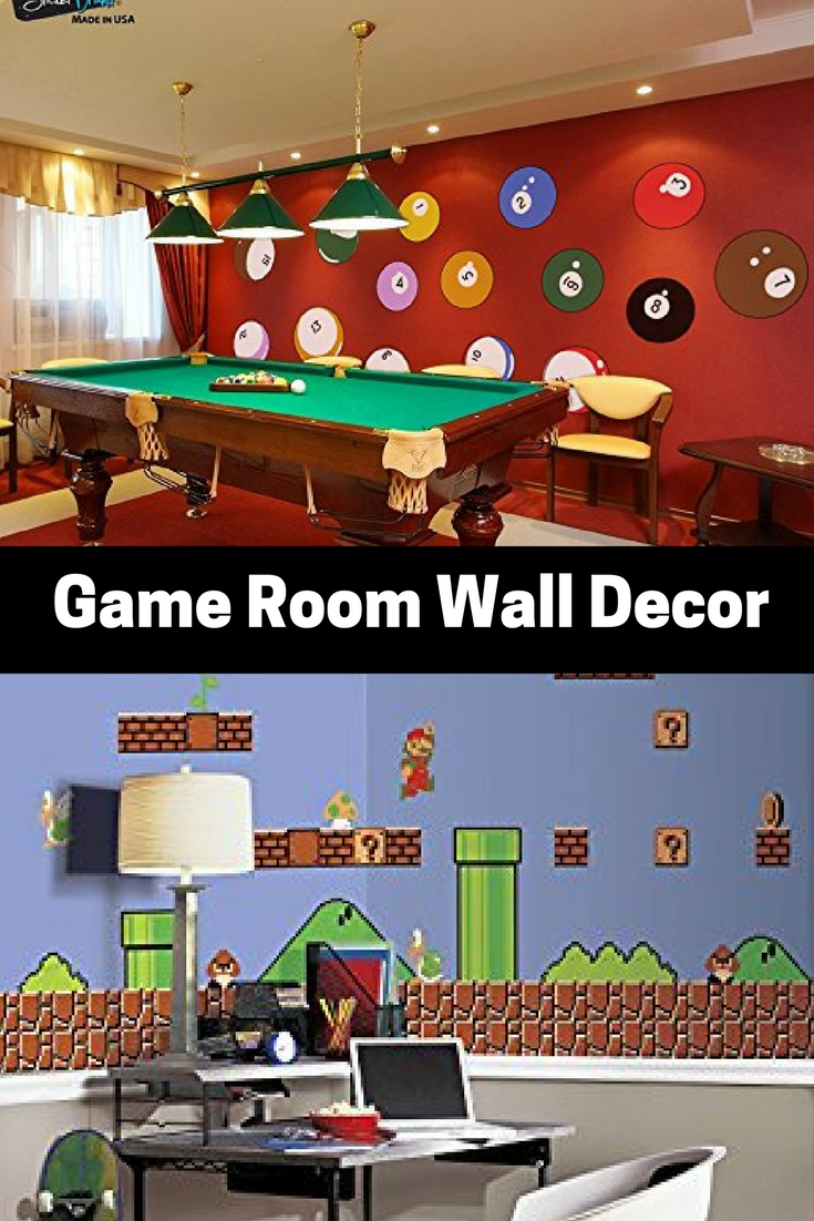 absolutely epic game room wall decor gaming wall art. Black Bedroom Furniture Sets. Home Design Ideas