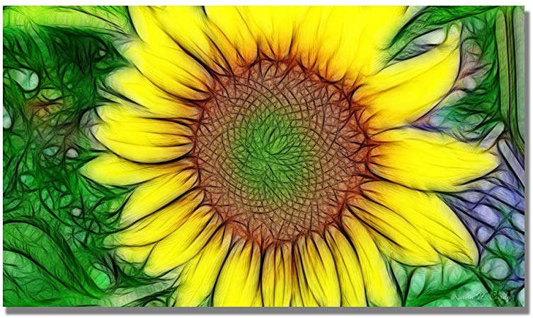 Sunflower wall decor - Sunflower wall art