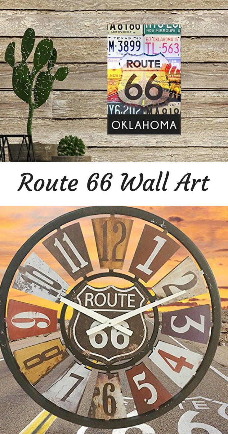 Get Your Home Decor Kicks With Route 66 Wall Art Highway Wall Art
