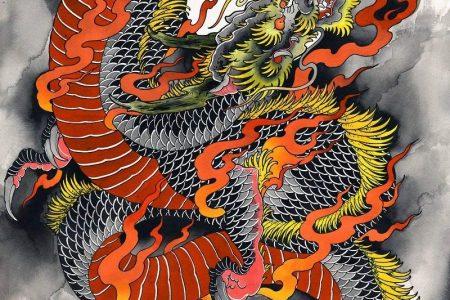 Dragon Wall Decor - Dragon Wall Art