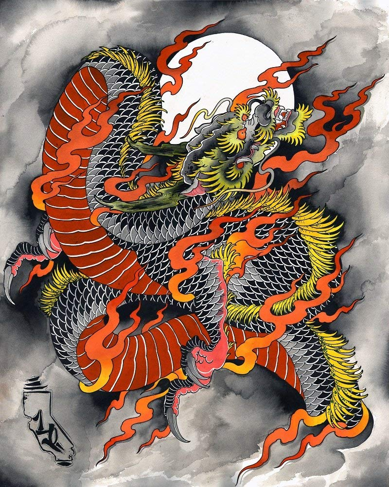 Dragon Wall Decor - Dragon Wall Art