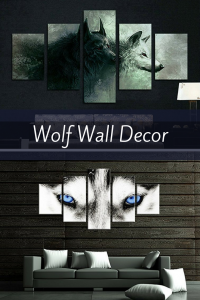 Wolf Wall Decorations