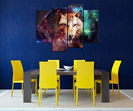 wolf wall decor - wolf wall art