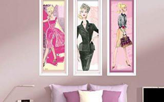 Glam Wall Decor - Fashion Wall Decor