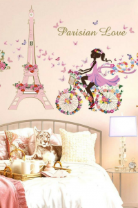 Pretty Paris wall decor