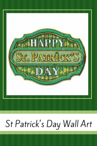 St Patrick's Day Wall Decorations