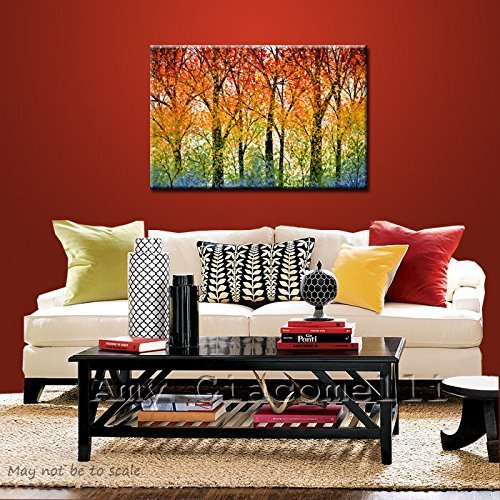 Colorful willow tree Wall Art - Willow Tree Wall Decor