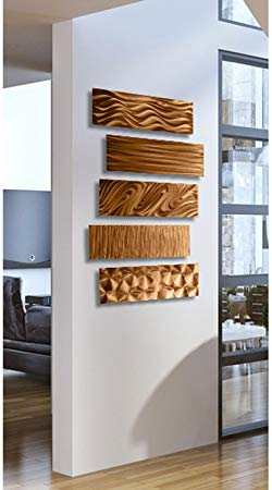 Modern Copper Wall Decor