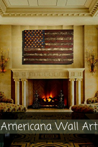 Americana Wall Art - Patriotic wall art - patriotic wall art decor -