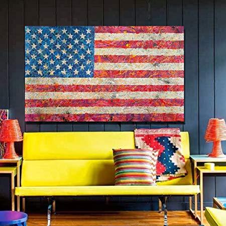 Contemporary Cool And Trendy Patriotic Wall Art Americana Interior Design Home Wall Art Decor