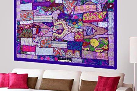 Bohemian wall decor - Patchwork Wall Decor - Bohemian Wall Art - Patchwork Wall Decor