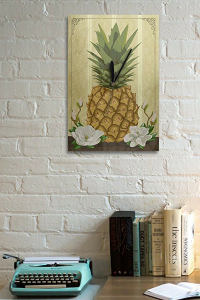 Cute and Trendy Pineapple wall decor - Fun and playful Pineapple wall art