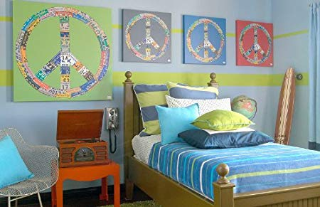Peace Sign Wall Decor - Peace Sign Wall Art