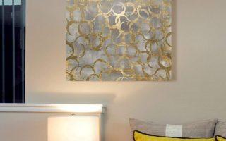 Trendy Gold Wall decor - Gold wall Art