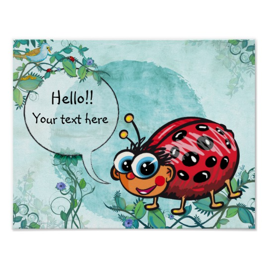Lady Bug Wall Decor - Lady Bug Wall Art