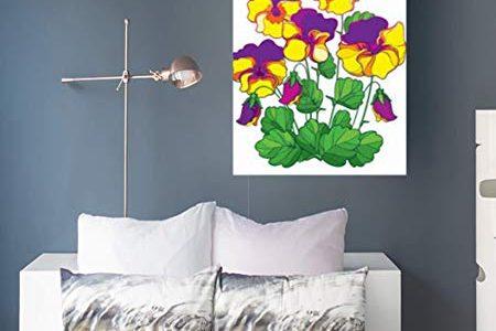 Winter Flower Wall Art - Floral Winter Decor