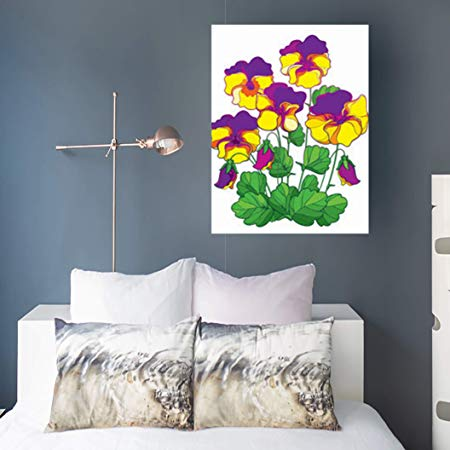 Winter Flower Wall Art - Floral Winter Decor