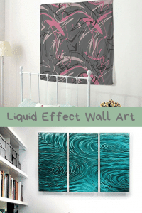 Liquid Effect Wall Art