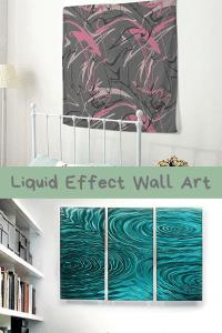 Liquid Effect Wall Art