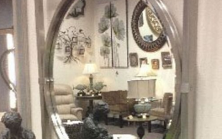 Mirrored Silver Wall Decor
