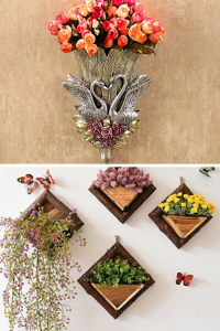 Flower Wall Vases - Floral Wall vases