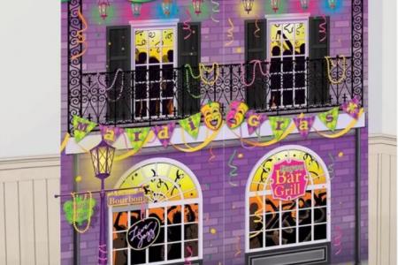 Mardi Gras Wall decorations - Playful Mardi Gras Wall Art - Trendy Mardi Gras wall decor