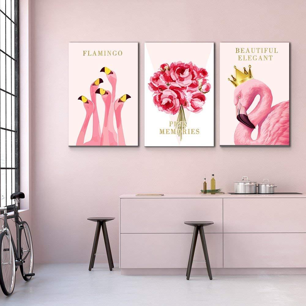 Pink Flamingo Wall Decorations
