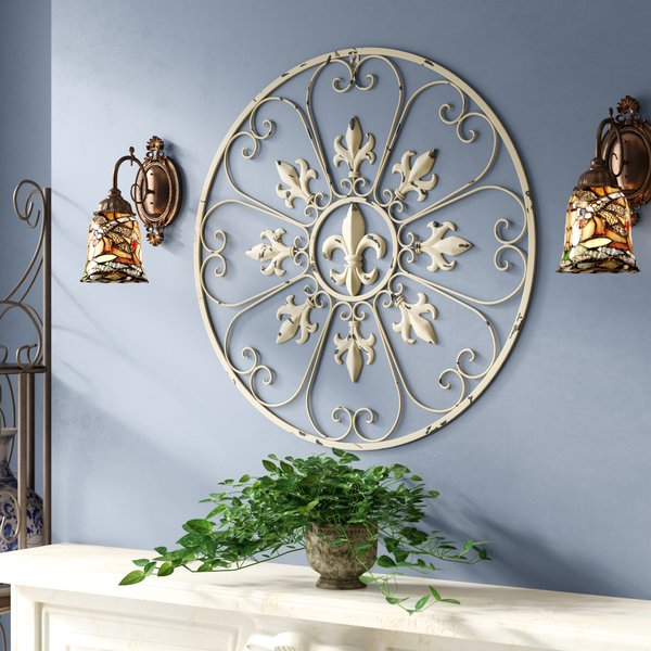 french country fleur de lis wall decor