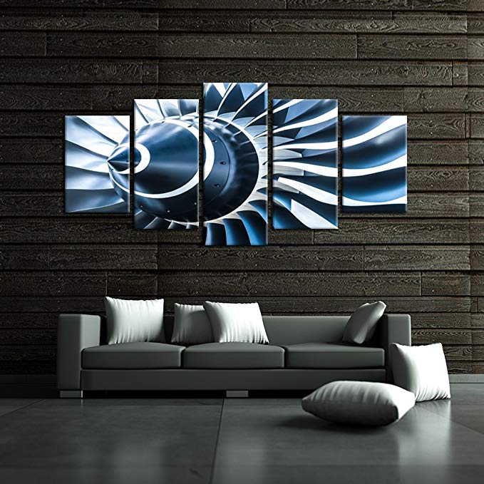 Dark Propeller Wall Art