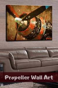 Propeller wall art - Propeller wall decor