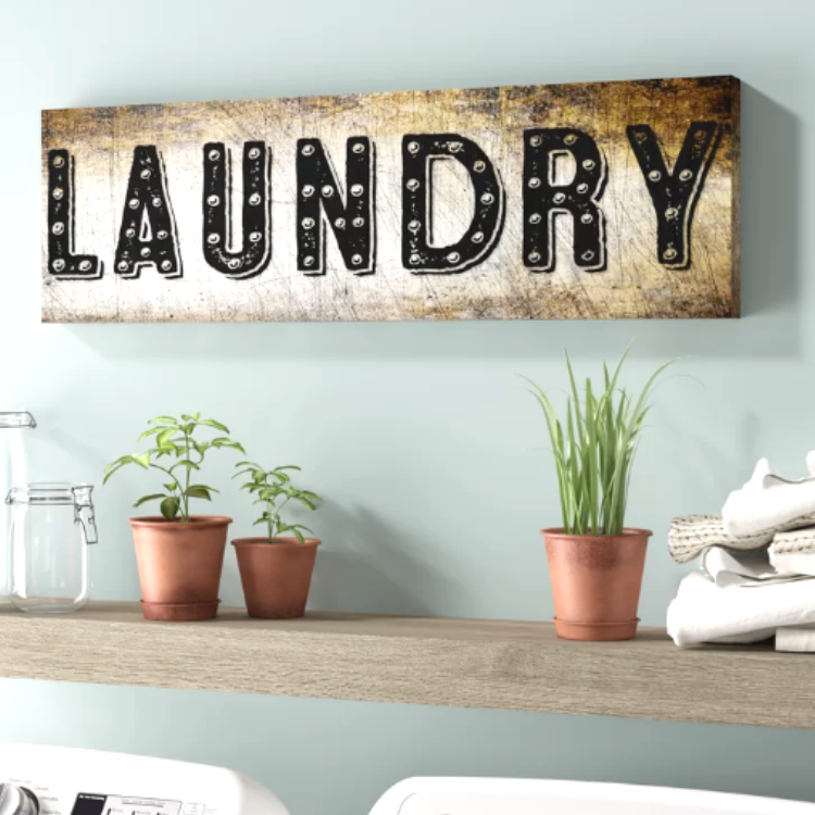 distressed laundry room decorating ideas