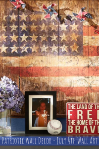 Patriotic Wall Decor - July 4th Wall Art
