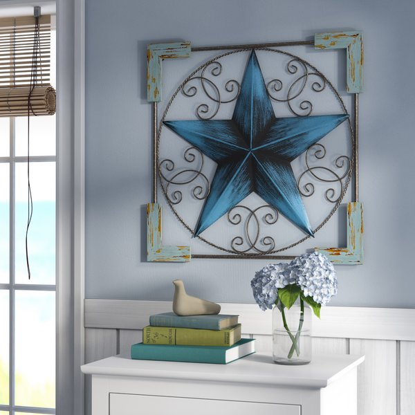 patriotic wall decor - star patriotic wall art