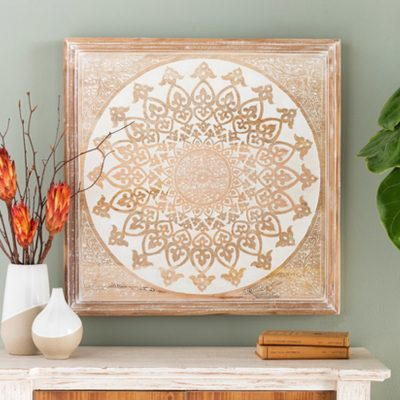 Exquisite Wooden Mandala Wall Art - Buddha Wall Art