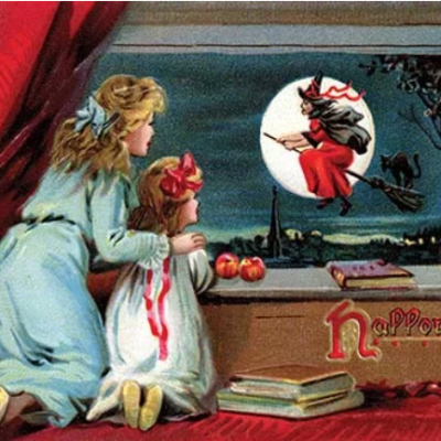 Halloween Vintage Advertisement