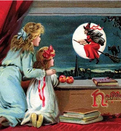 Halloween Vintage Advertisement