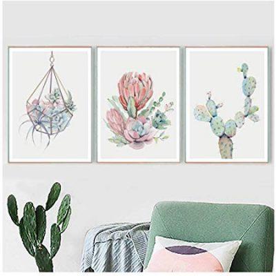 Succulent Plants Cactus - Desert Wall Art