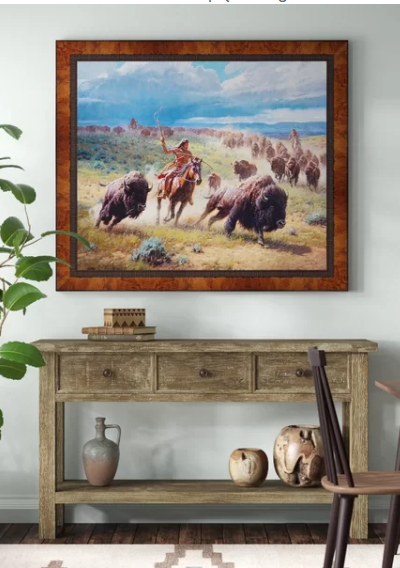 Chasing Thunder - Western Wall Decor