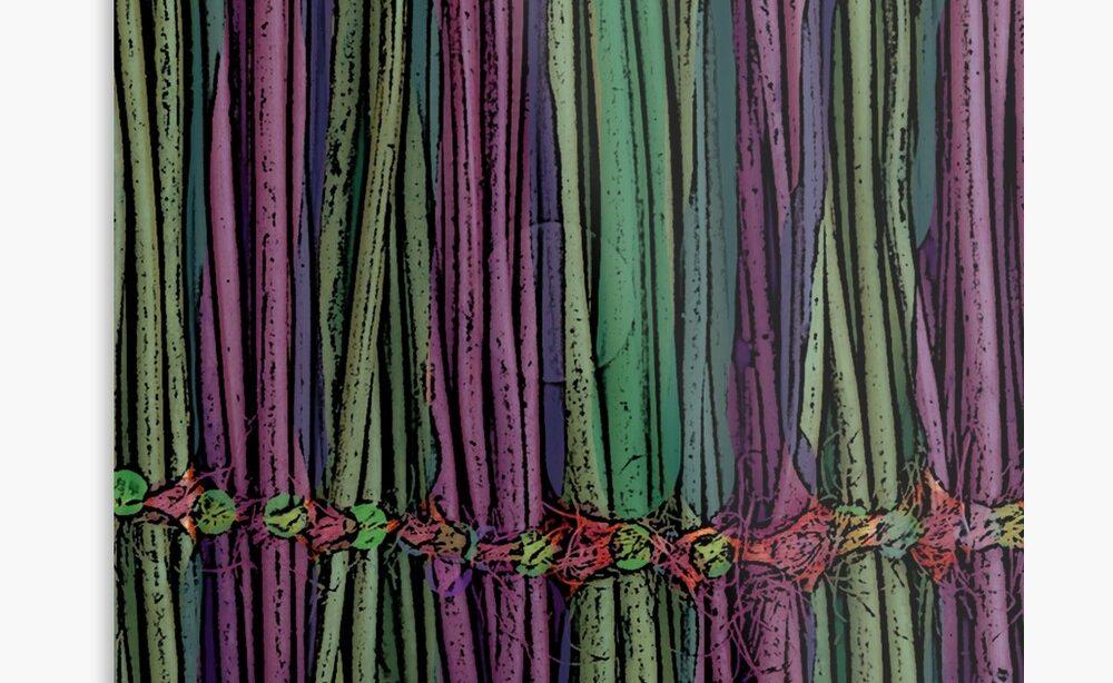 Green Wall Decor - Green Canvas Art - Green Wall art