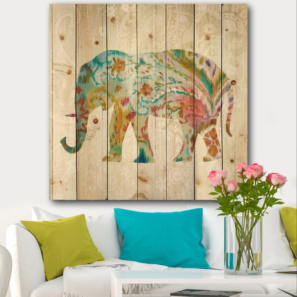 Indian Boho Elephant Wall Decor