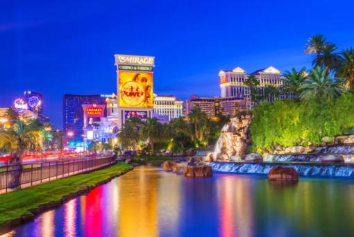Viva Las Vegas - Geography Las Vegas Wall Art