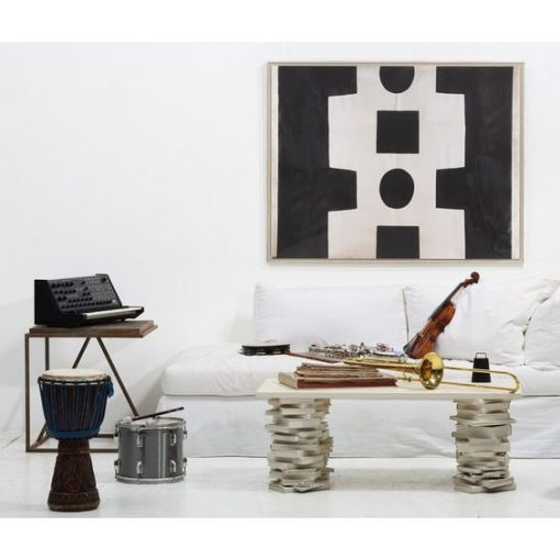 black white abstract wall art