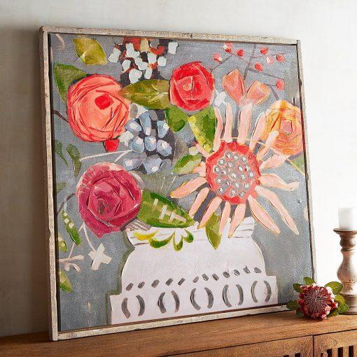 Flower Power - Hippie Wall Decor - Boho Wall Decor