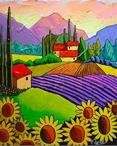 Lumière Provençale -Sunflower Wall Decor