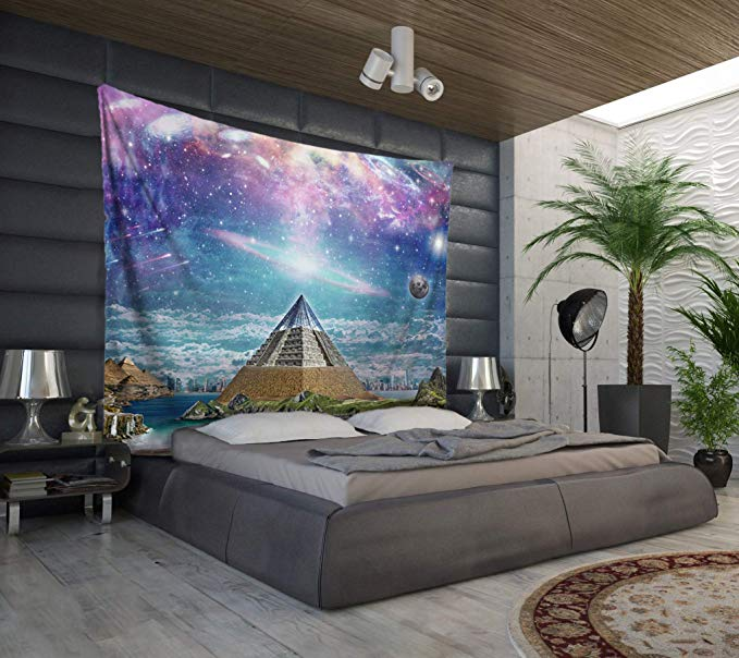 Pyramid Wall Decor - Modern Pyramid Wall Decor